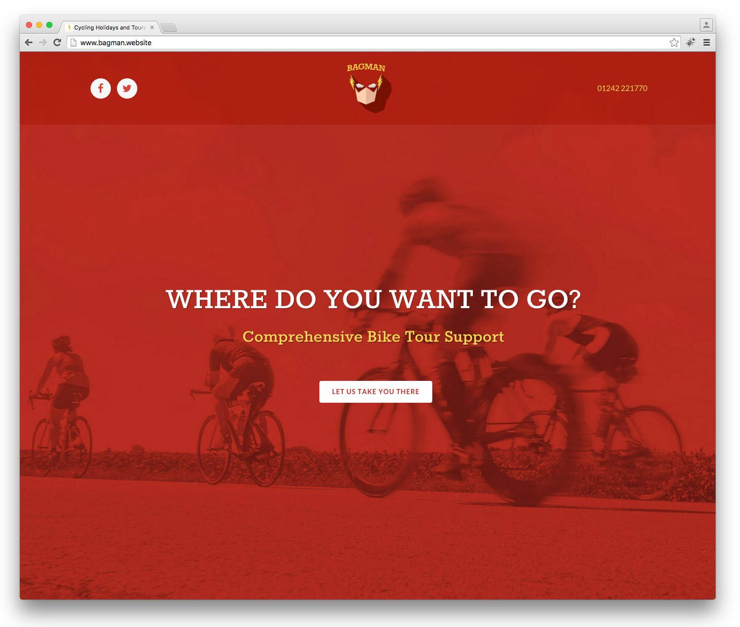 Bagman - Comprehensive Bike Tour Support