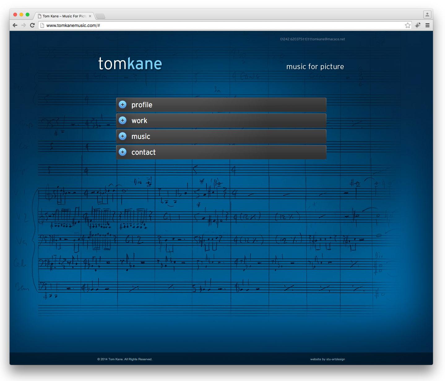 Tom Kane Music