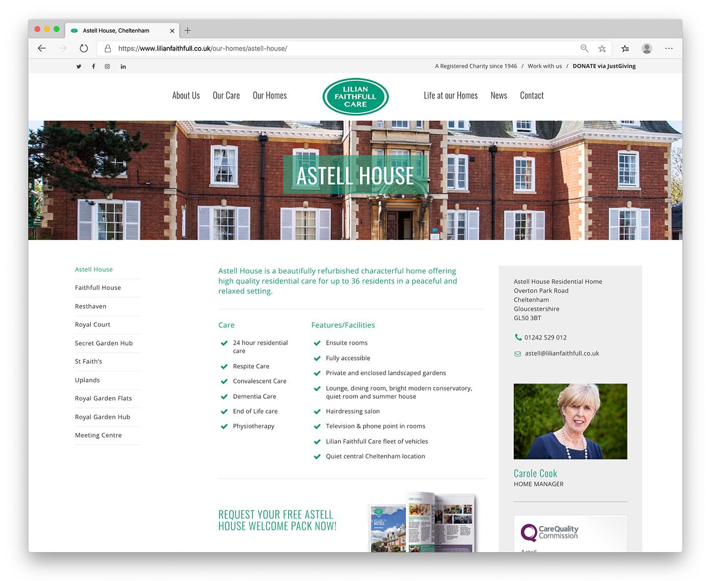 Lilian Faithfull Care Homes